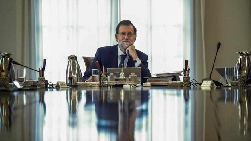 Mariano Rajoy, en un día normal.