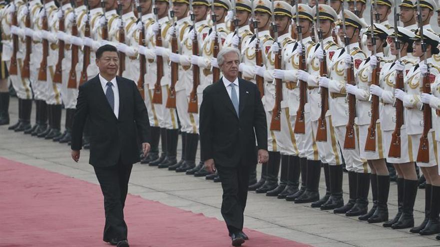 Vázquez abre el camino para un TLC entre Uruguay y China