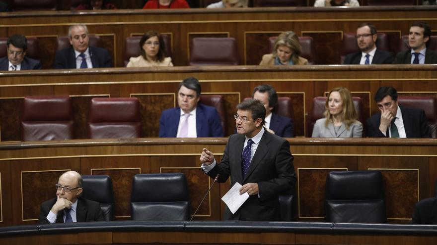 """Catalá comparece hoy en el Congreso para dar cuenta de las supuestas """"presiones"""" a fiscales"""