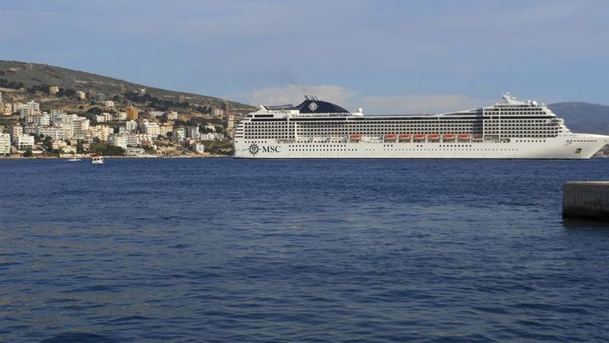 Albania entra por primera vez en el radar de los cruceros turísticos