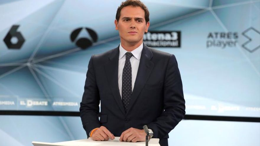 Albert Rivera en el debate de Atresmedia