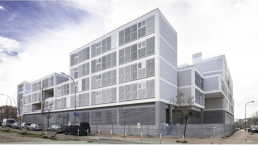Edificio de viviendas de protección oficial de Vallecas