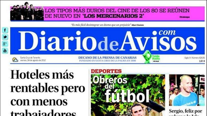 De las portadas del día (24/08/2012) #2