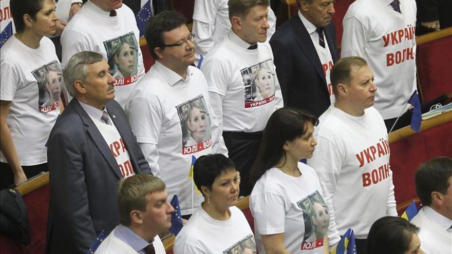 El Parlamento ucraniano rechaza el tratamiento de Timoshenko en el extranjero