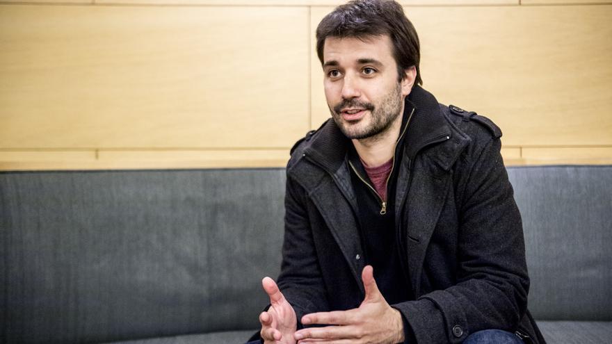 Javier Sánchez, diputado de Unidos Podemos en el Congreso