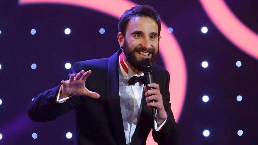 El actor y presentador Dani Rovira, durante la ceremonia de los 30 Premios Goya