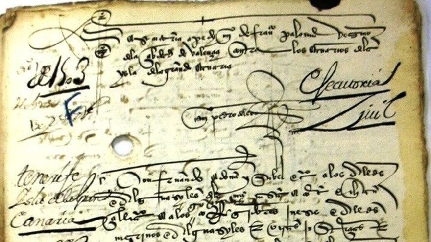 Localizados en Andalucía unos 2.000 documentos desconocidos de la historia de Canarias.