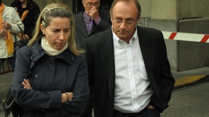Los Padres De Marta Del Castillo, A Su Salida De La Audiencia Provincial