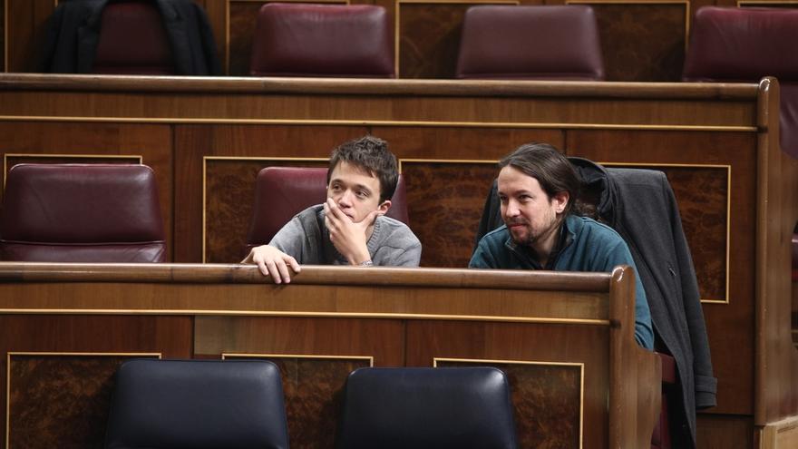 Iglesias y Errejón se reúnen a solas casi dos horas durante el Consejo Ciudadano de Podemos que prepara Vistalegre II