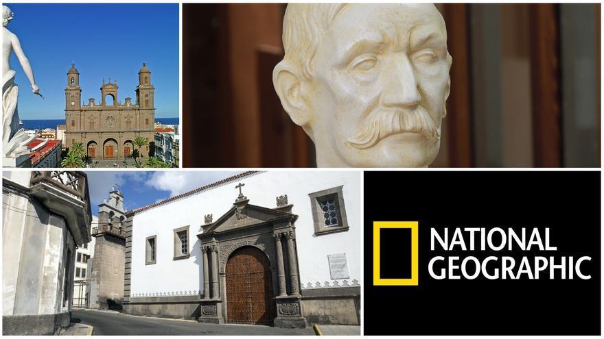 """National Geographic recomienda """"un paseo con Pérez Galdós"""" en Las Palmas de Gran Canaria"""