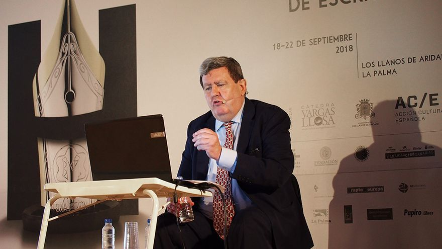 Juan Manuel Bonet durante su intervención.