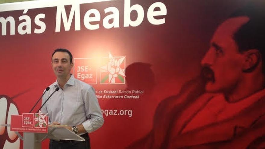 """PSE anuncia que el acuerdo presupuestario alcanzado en Bizkaia con PNV permitirá """"afrontar los problemas"""" del territorio"""