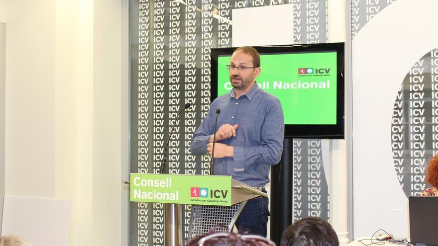 """Herrera (ICV) afirma que """"no hay solución"""" al encaje de Cataluña sin un referéndum"""