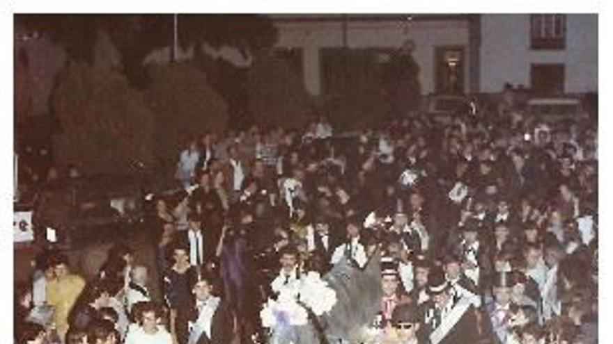 Imagen de archivo del 'Entierro de la Sardina' de San Andrés y Sauces.