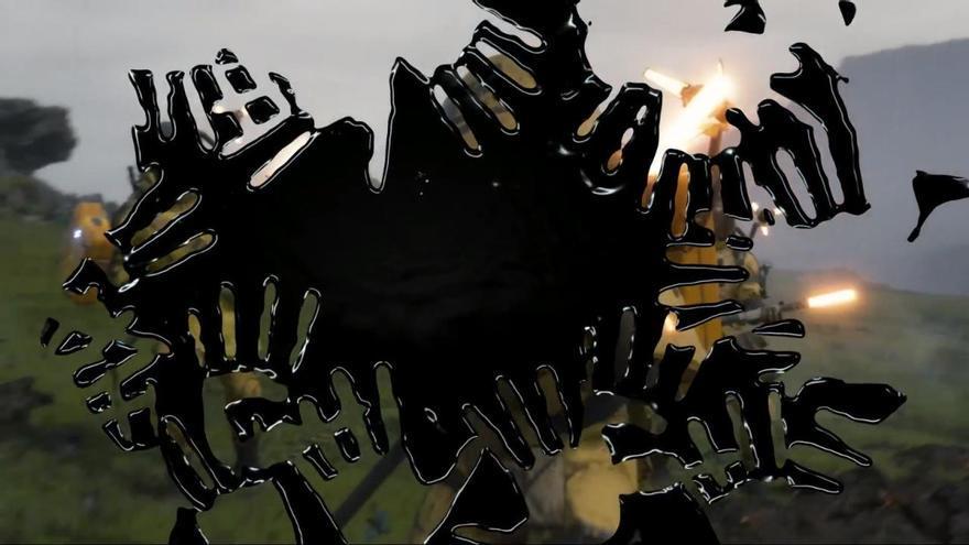 Imagen de las manchas negras en el teaser de 'Death Stranding'