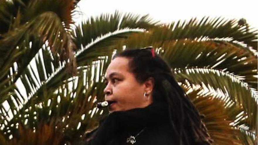 Ochy Curiel, académica feminista, impulsora de distintas corrientes críticas feministas en América Latina y El Caribe, como el feminismo afrolatino y afrocaribeño, el lesbianismo feminista y el feminismo decolonial. | Imagen cedida a eldiario.es.