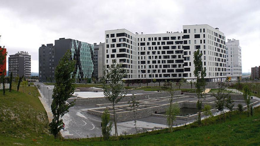 Edificios del barrio de Mariturri (Vitoria-Gasteiz).