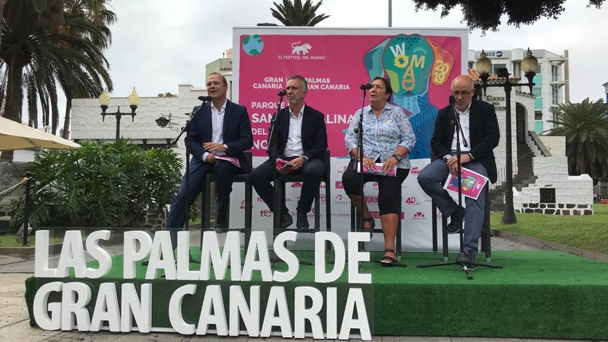 Presentación de la programación del WOMAD Las Palmas de Gran Canaria
