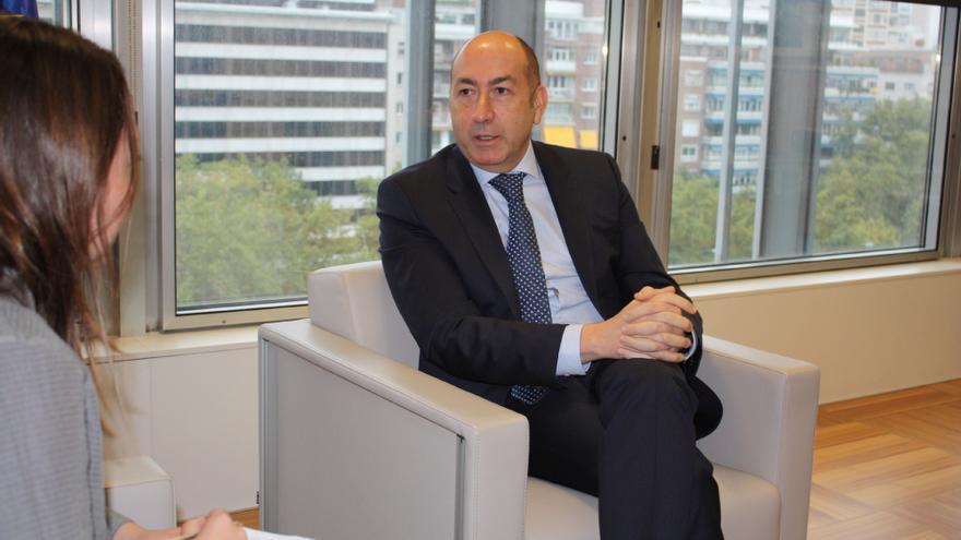El director general de Sepes, Alejandro Soler