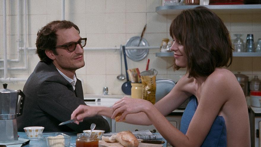 Jean Luc Godard y Anne Wiazemsky en 'Le redoutable'