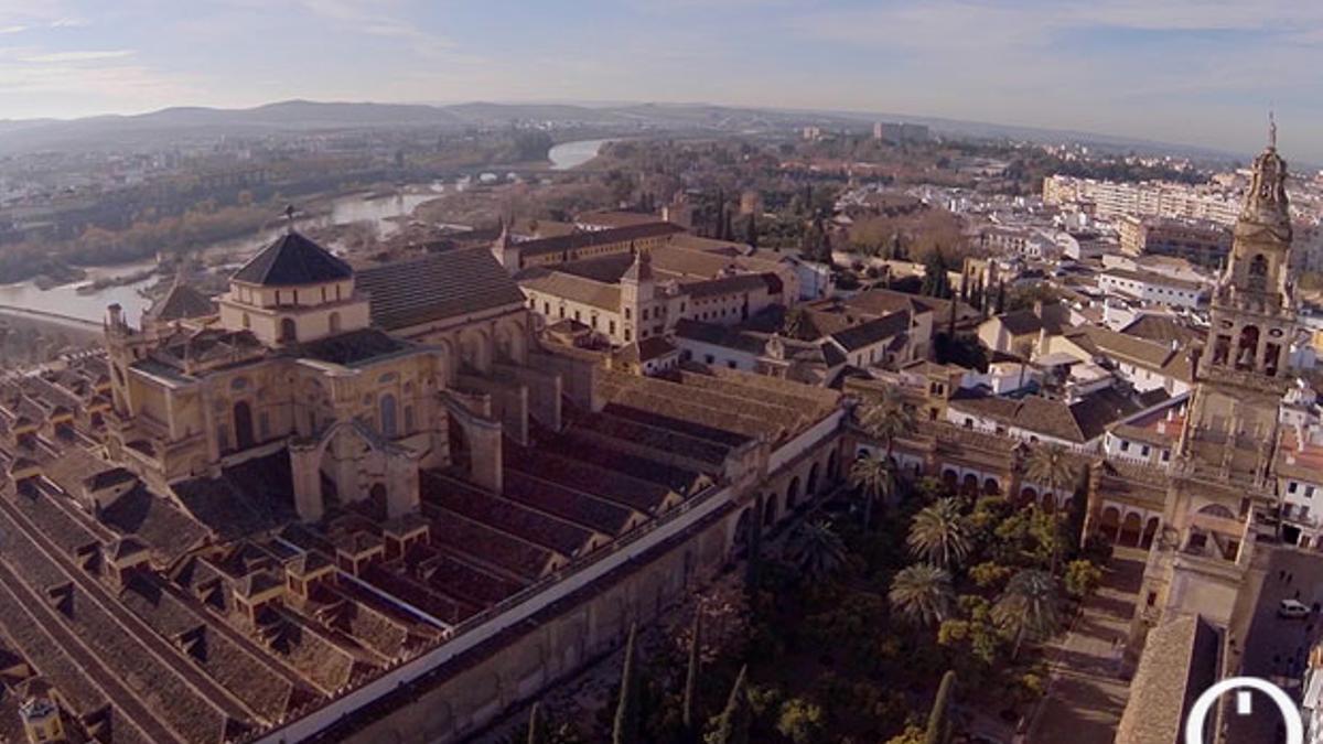 Vista aérea de la Mezquita-Catedral