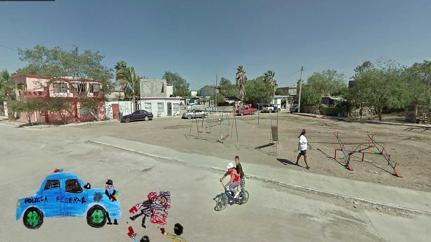 Parte de la colección de 'El lugar donde vivo' de Raúl Kalesnik