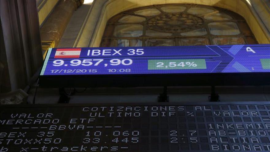 La bolsa española abre con recortes y el IBEX cede un 1,24 %