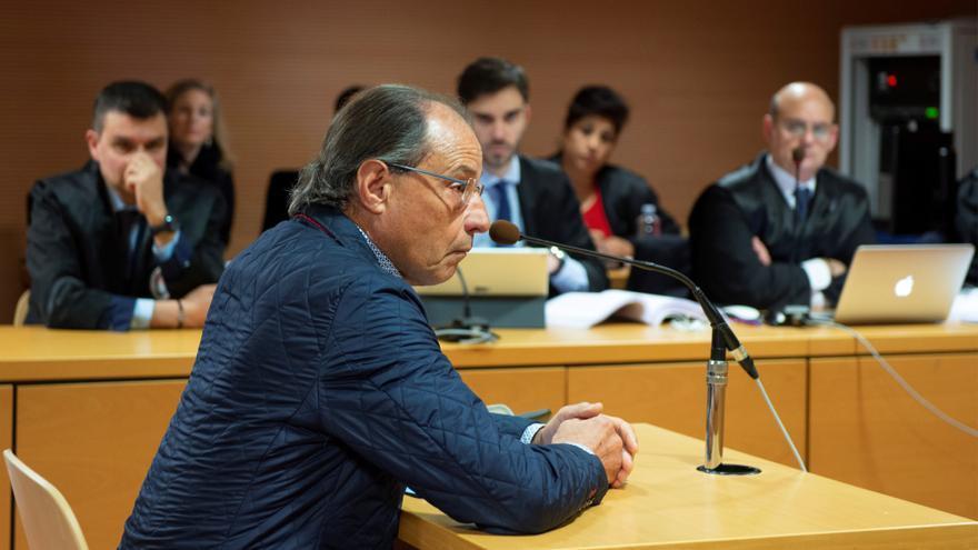 El promotor de la bodega ubicada en La Geria, Juan Francisco Rosa, declara ante la Audiencia de Las Palmas en la tercera jornada del juicio del caso Stratvs.