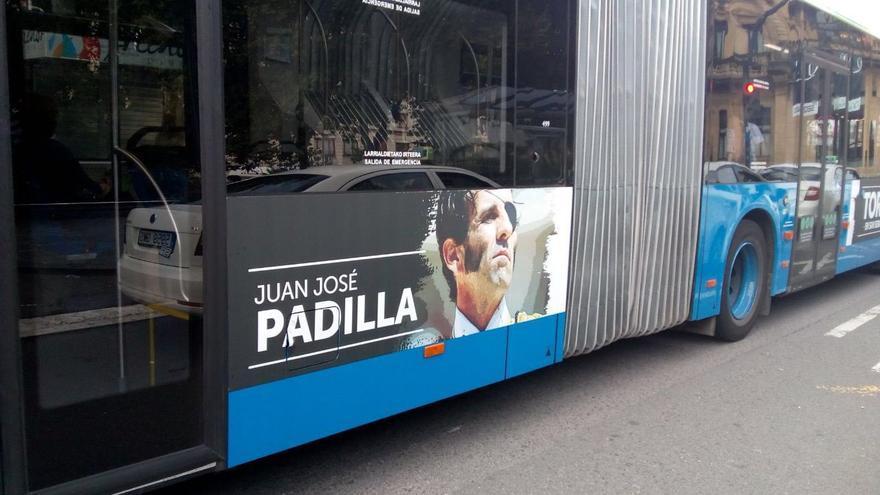 Publicidad taurina en autobuses 'dbus'