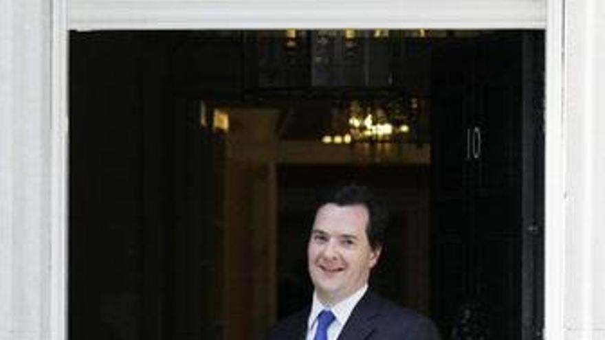 Ministro de finanzas de Reino Unido, George Osborne