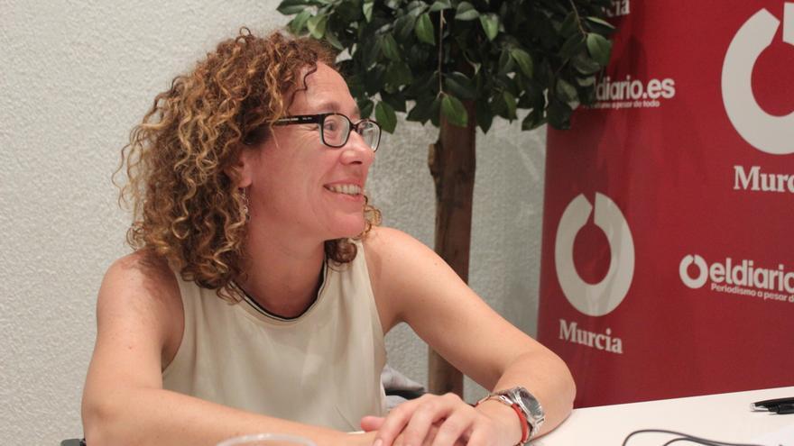 Alicia Morales, candidata a alcaldesa por 'Es Ahora Murcia' / PSS