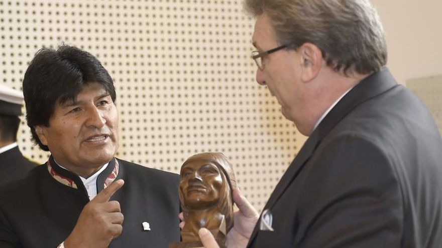 Morales abre en Berlín su ronda de reuniones,  centrada en convenios económicos