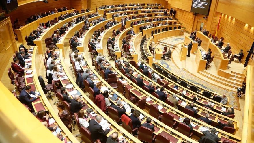 El Senado, durante una sesión plenaria