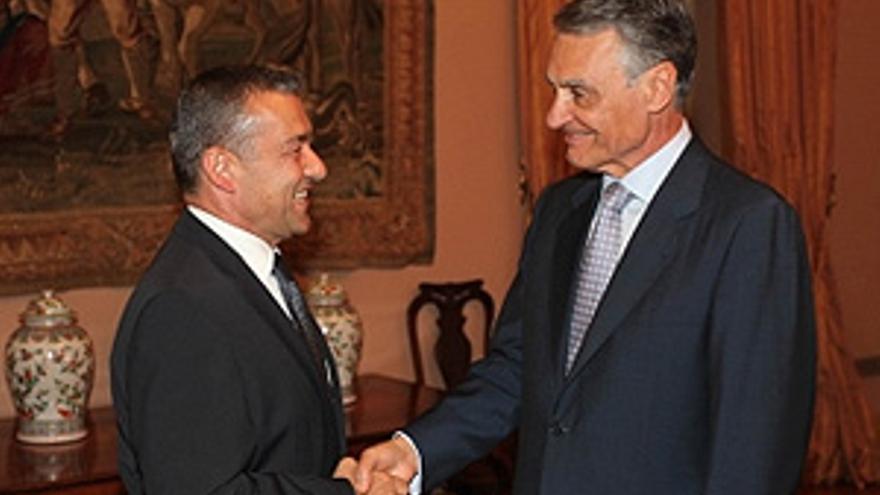 Paulino Rivero y Aníbal Cavaco Silva. (ACFI PRESS)