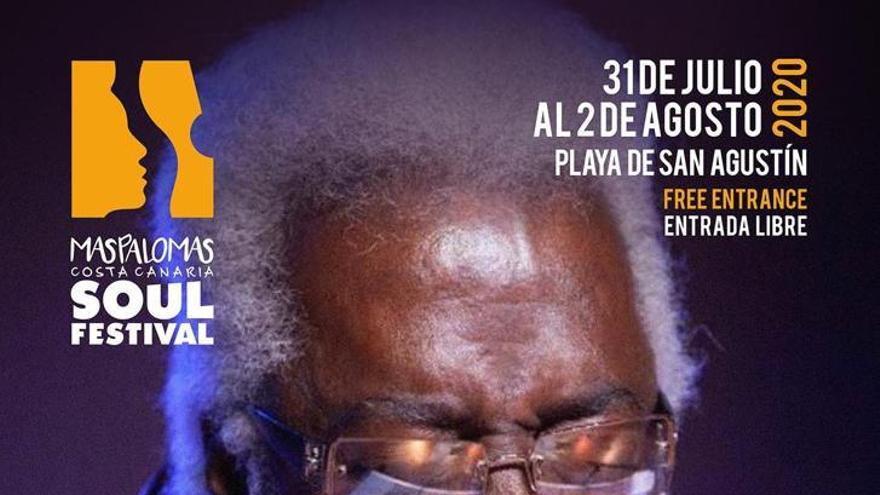 Cartel de presentación Soul Festival de Maspalomas.