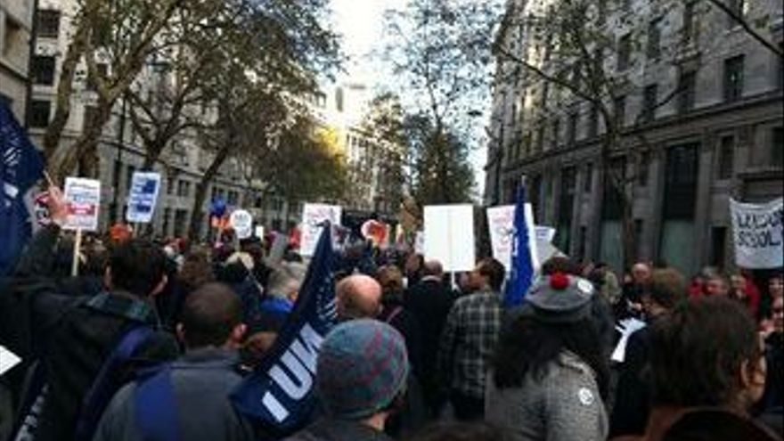 Imágenes de las protestas. (CANARIAS AHORA)