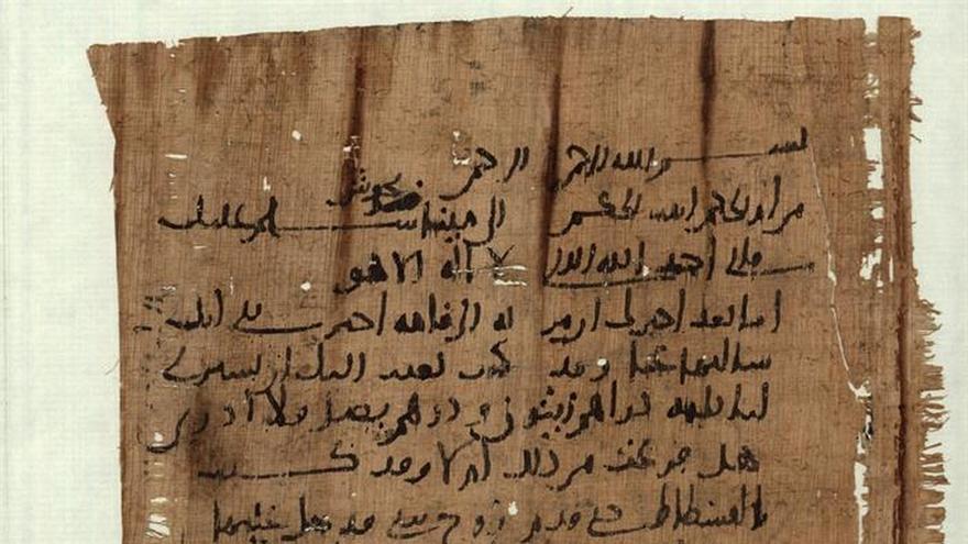 Casi 80.000 papiros en árabe esperan ser descifrados en Viena