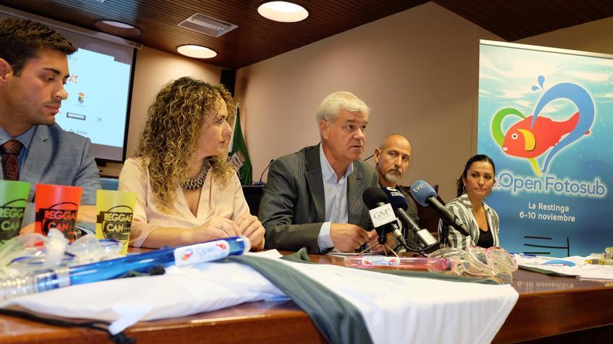 Imagen de la rueda de prensa de presentación celebrada este martes en el Cabildo de El Hierro.