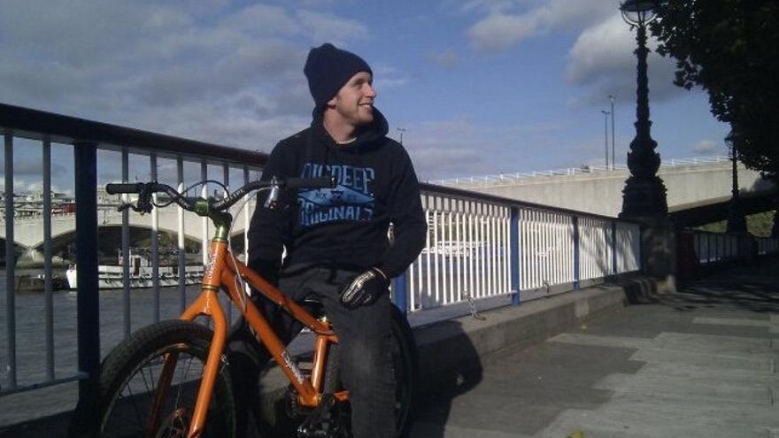 El ciclista de trial Danny MacAskill.