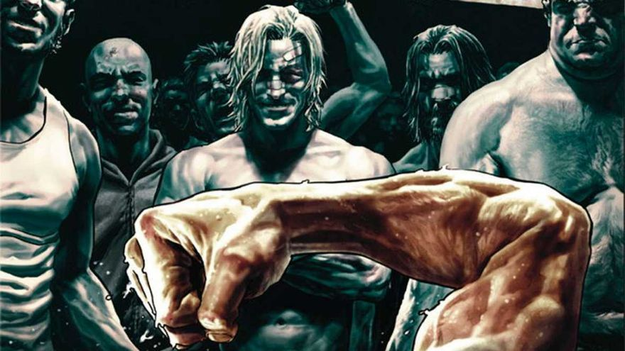 Portada del cómic 'El club de la lucha 2'