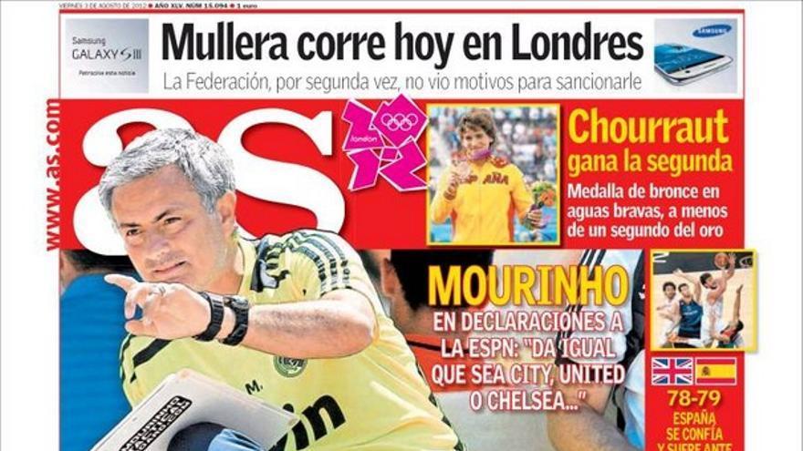 De las portadas del día (03/08/2012) #13
