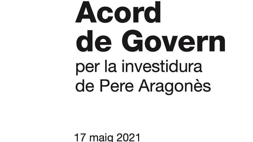 El acuerdo entre ERC y Junts prioriza la mesa de diálogo con el Gobierno sin descartar la