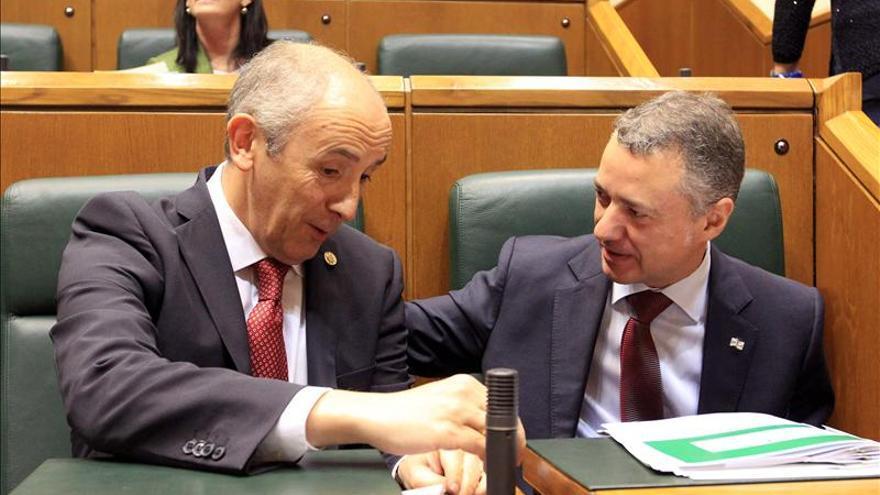 El Gobierno Vasco se muestra favorable a suprimir la figura del aforado