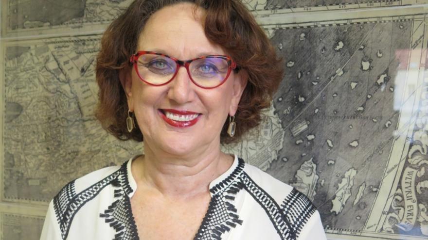 La secretaria general iberoamericana, Rebeca Grysnpan