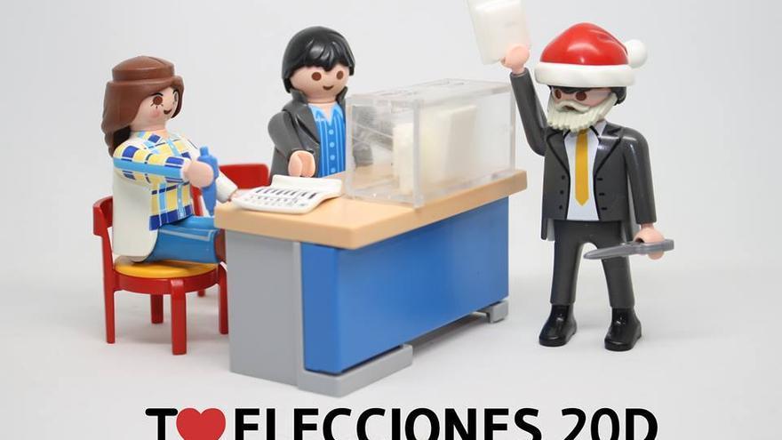 I love elecciones 20D
