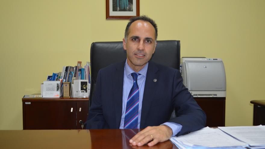 El nuevo rector de la UPCT, Alejandro Díaz