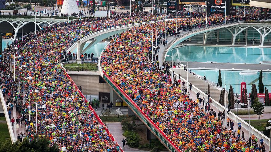 La pasada edición del Maratón Valencia