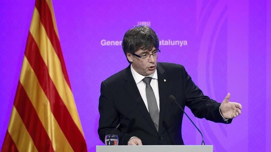 """Puigdemont manifiesta que el objetivo es hacer """"un país mejor"""""""