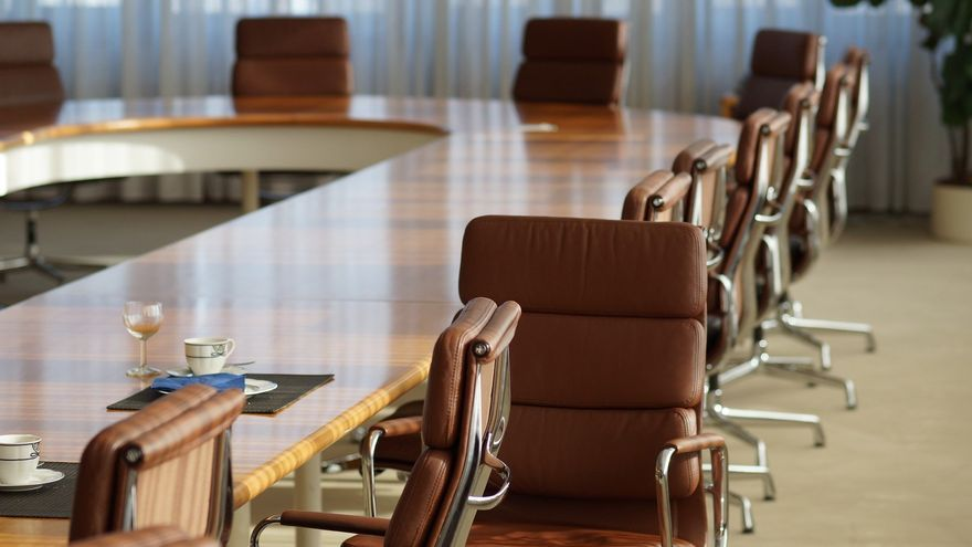 Sala de Juntas de una empresa.