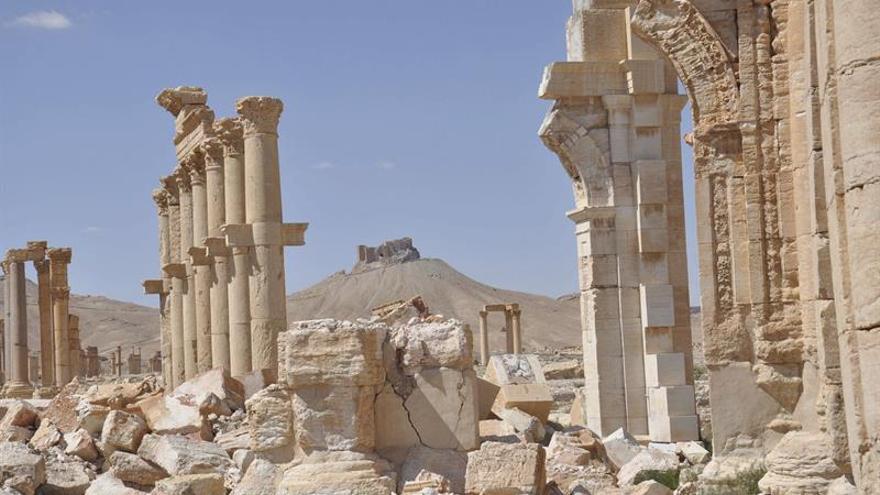 Asad: Los yihadistas llegaron a Palmira con apoyo de EEUU o su conocimiento